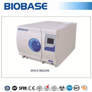 biobase sınıf b serisi masa üstü otoklav sterilizatör 24l