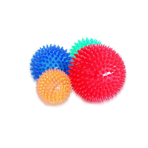 Pet Supplies Spike Ball Squeaky Soft Rubber Pet Toy Ball Dog Chew Toy