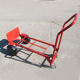 Multi-function standard size four wheels hand trolley truck for agriculture