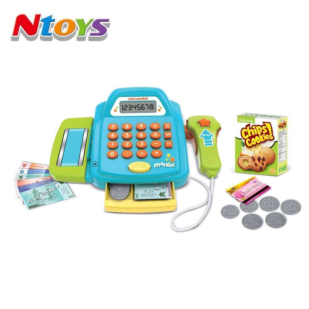 Pretend Pay Toy Role play Cash Register with Light/Sound suitable for boys and girls