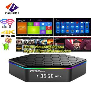 2gb ram 16gb rom android tv box t95z plus S912 Octa Core Processor KODI 16.1 x96 s912 android 6.0 tv box t95z plus
