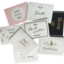 Factory Direct Customized Printing Luxury Greeting Card Favor Fancy Visiting Gift Thank You Cards Bulk
