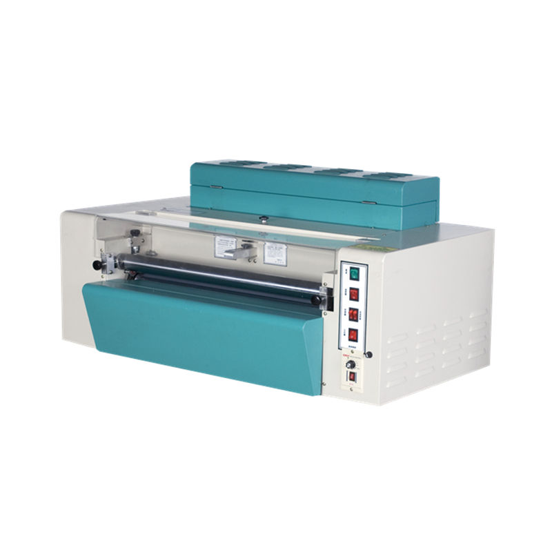 SG-358 printed paper sticker label photo spot UV coating machine UV varnish machine