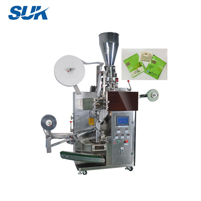 Automatic stainless steel electric tea bag packing machine with outer bag