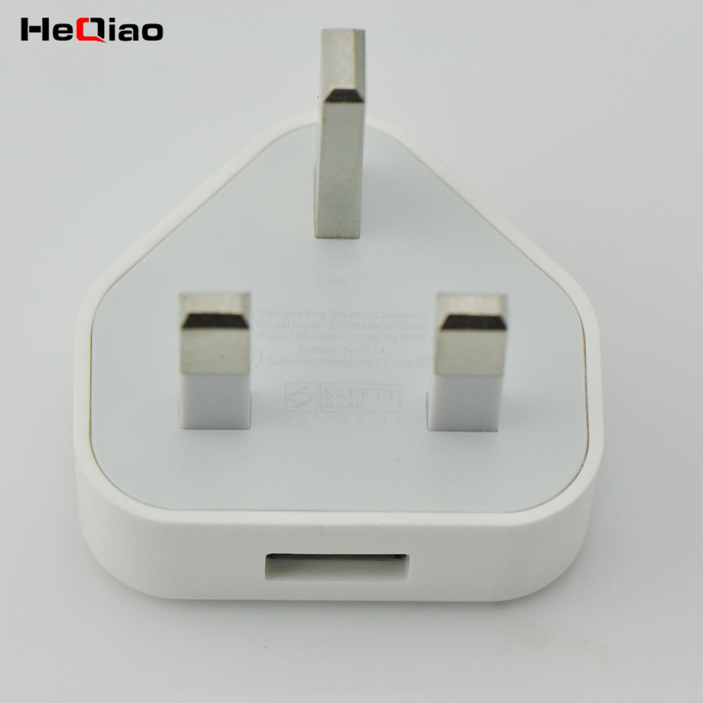 Charger For iPhone Wall USB Charger Genuine 5W USB Power Adapter UK Plug
