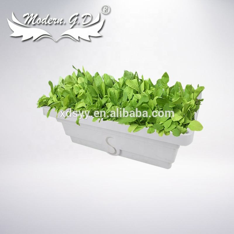 wholesale vegetables and tomatoes hydroponic cultivation growing systems square flower planter pot