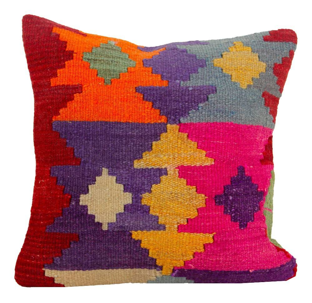 Stylish Hot Selling Cushion Cover Hand Woven Moroccan Style 40x40cm with Custom Size and Bulk Orders in a short time Pillow