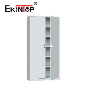 Ekintop vintage fire proof aluminum overhead metal two door office filing cabinet for office