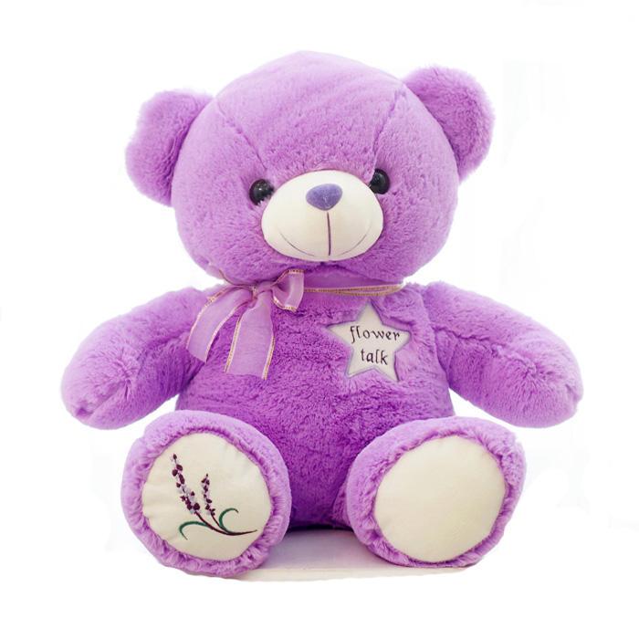 Electrónica de san valentín lavender osos de peluche al por mayor