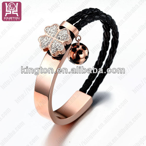 2013 fashion women accessories leather bracelets