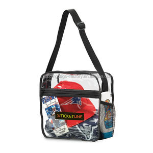 Phathalate-gratis Sporting NFL & PGA Clear PVC Event Messenger Bag
