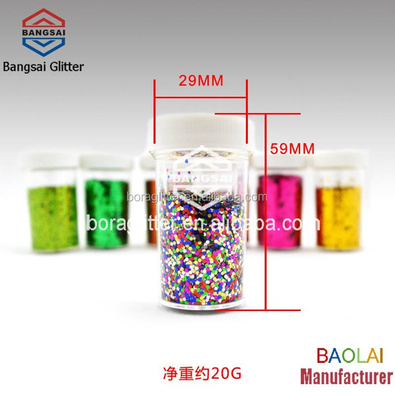 BL Shimmer Mixed Color Glitter Powder for Silicone Bracelets