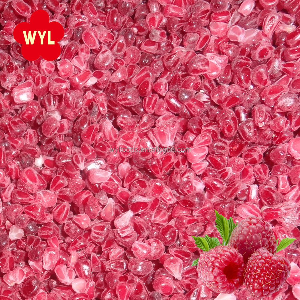 Best Quality IQF Fruit Frozen Raspberry Crumbles for Juice