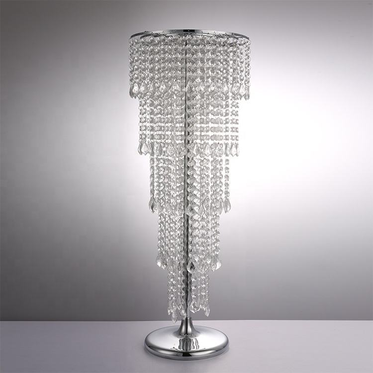 Metal Flower Vases For Wedding Table Centerpieces Crystal Road Lead Party Centerpiece
