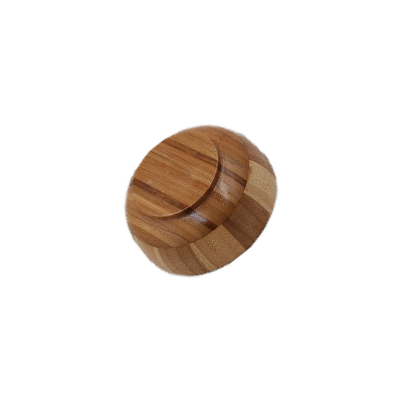 Best quality color matching bamboo rice bowl