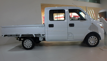 China Dongfeng brand 1.3L gasoline left hand drive 5MT single cabin mini truck for small cargo