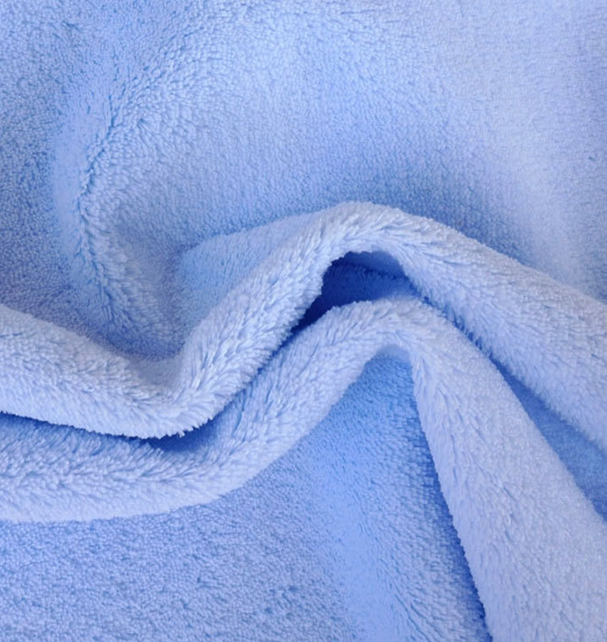 Soft TPU Laminated Knit Fabric Waterproof Coral Fleece