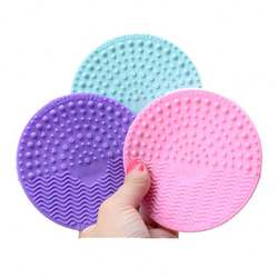Best hot selling wholesale private logo OEM make up brush cleaner mat