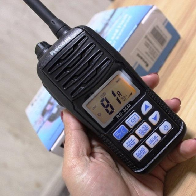 RS-36M Vhf Marine Draagbare Waterdichte Transceiver/IPX7 Float Vhf Handheld Marine Radio RS-36M