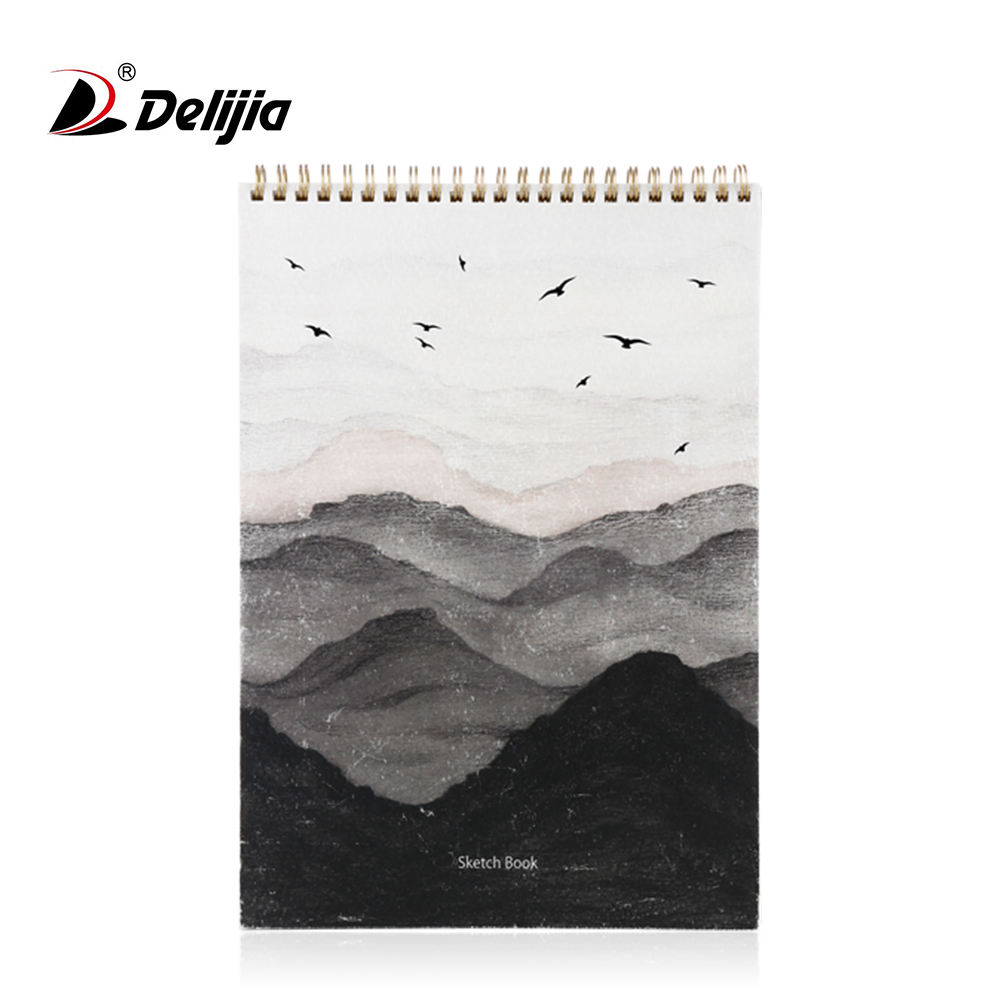 Watercolor paper drawing exercise book a3 a4 sketch pad spiral bound sketchbook
