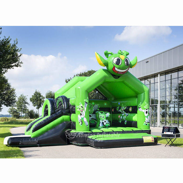 2020 high quality cheap giant commercial inflatable bounce house with IPS system for sale