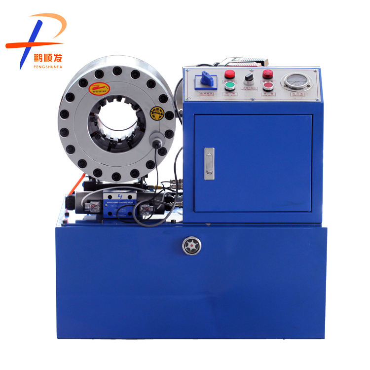 Hot-selling Professional manufacturer DX68 hydraulic hose crimping machine