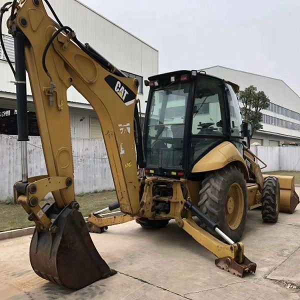 cheap price used caterpillar backhoe /second hand CAT tractor backhoe /good conddition chinese used backhoe for sale
