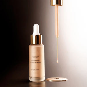 Private label cosmetic organic makeup liquid foundation waterproof long lasting makeup foundation
