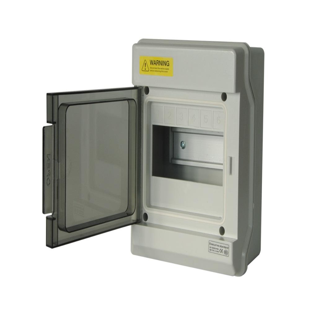 ZCEBOX 50 Pairs Indoor Distribution Box with White Mount Frame enclosure ip66