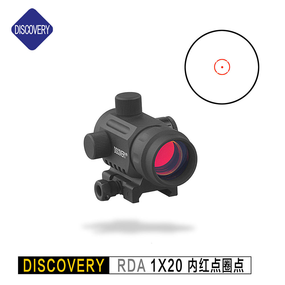 Discovery Optics RDA 1x20 Tactische Micro Reflex Red Dot Scope