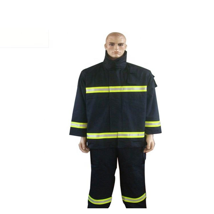 Factory Sale Fireman Safety Resistant Suit With Reasonable Price