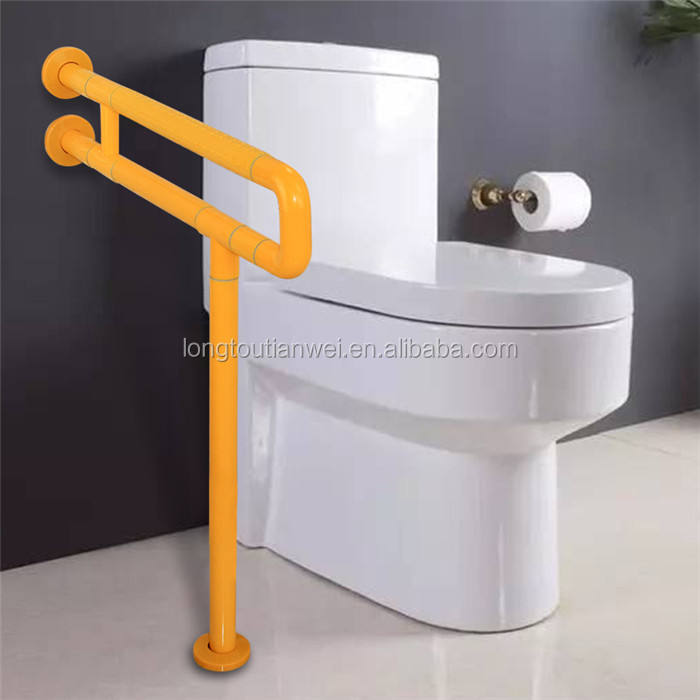 Bath Accessories For Disabled Toilet Safety Bathtub Nylon Stainless Steel Grab Bar