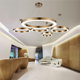 China Supplier Modern Design LED Light Circular Shape Industrial Ceiling Pendant Lamps