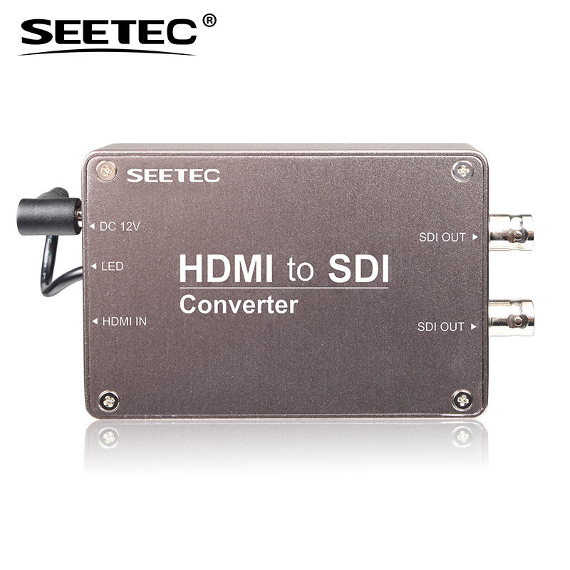 Tragbares Design HDMI zu SDI 1080p 1080i HD-Video konverter mit Audio-Einbettung