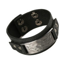 long leather bracelet cortical multilayer wide fashion magnetic buckle bracelet popular in Europe and US