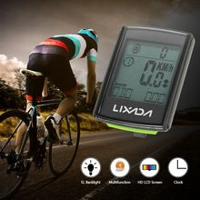 Lixada 3-in-1 Wireless LCD Bicycle Cycling Computer for Naked Riding Event Y2625B