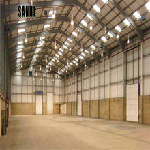 affordable light steel frame prefab warehouse barn building industrial