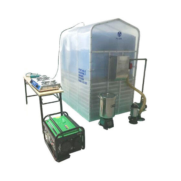 Portable Home Scale Biogas Plant for Cooking