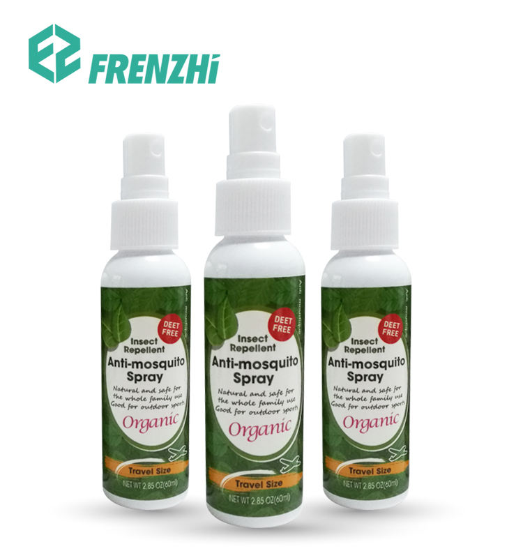Best all essential oil eco friendly anti mosquito spray insect repellent spray for baby FZ04