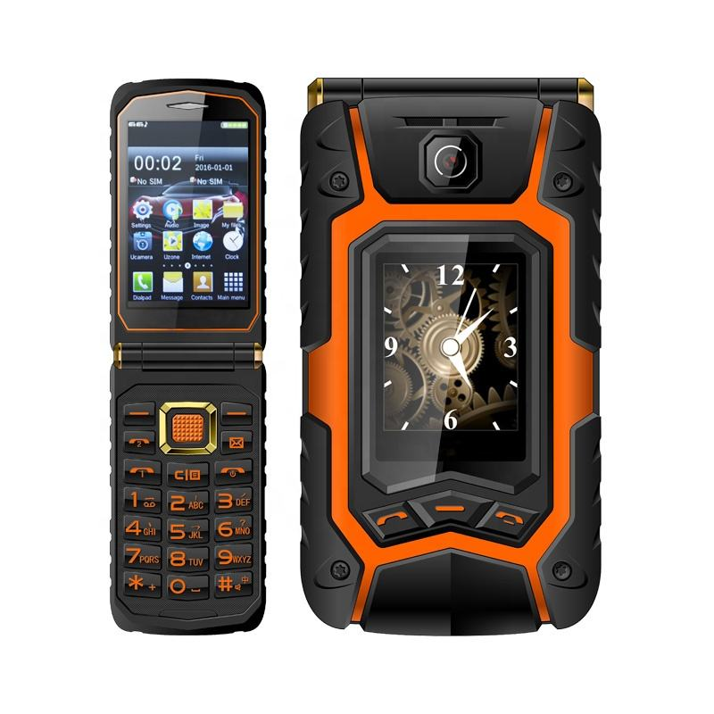 Wholesale Rover X9 Dual SIM Card Flip Style Dual Screen Mobile Phone Unlocked