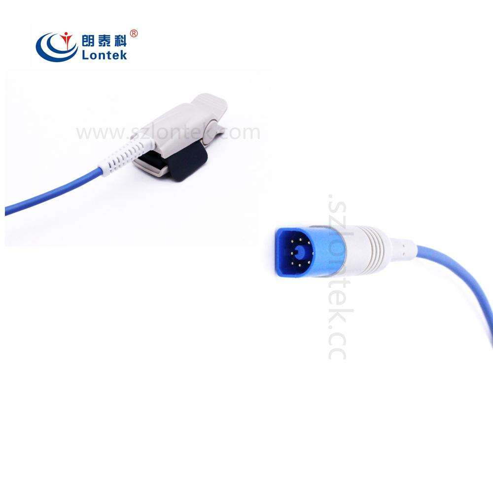 PH M1191A Adult Finger Spo2 Probe Compatible M3,M4,MP20,MP30,MP40,MP50, MP70,MP80,VM4,VM6,VM8