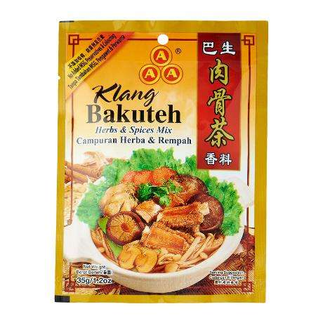 Malaysia Cooking Seasoning Herbs Products 3A Klang Bakuteh Spices