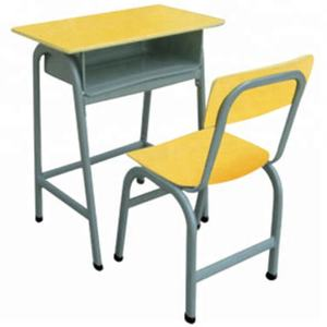 Standard Size School Desk Chair New Used Wooden School Furniture For Sale Attached School Desk And Chair Sets