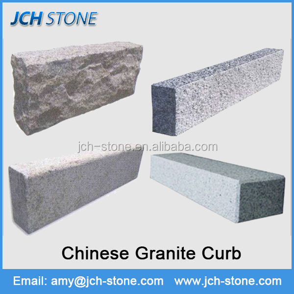 Curbstone granite kerbstone and road side curb stone