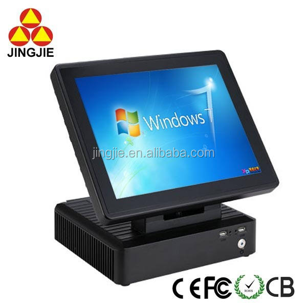 Inventaris Goedkope 15 inch True Platte Touchscreen POS Machine JJ-8000M