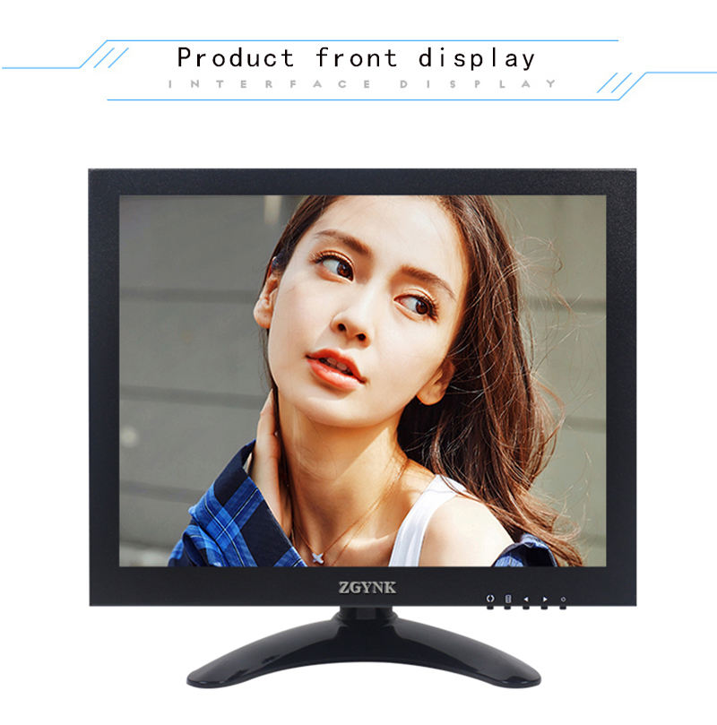 9.7 inch open frame industrial metal monitor Computer led monitor OEM