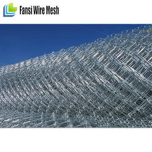 America galvanized Chain Link 6x12 temporary construction fence panels