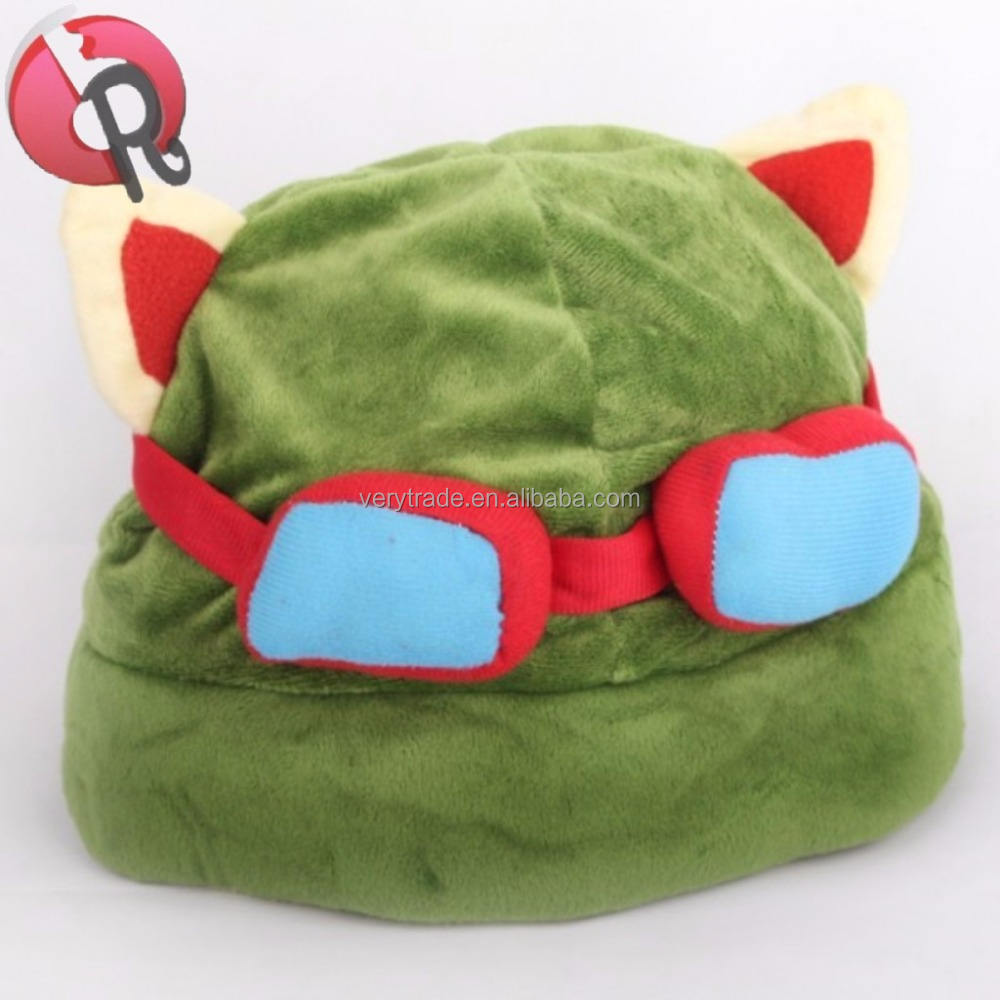 Costume Plush Toys Props teemo hat