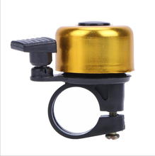 Factory Direct Cheap Price Bicycle Accessories Bell Bike Ring Handlebar Metal Ring Black Bike Bell Horn Protective Bell Rings