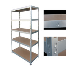 Metal iron shelving units for warehouses storage goods